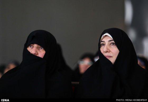 همسران فریدون (دستیار ویژه رئیس جمهور) و روحانی (رئیس جمهور)