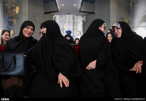 همسران هاشمی (وزیر بهداشت) ،فریدون (دستیار ویژه رئیس جمهور)، روحانی (رئیس جمهور) و جهانگیری (معاون اول رئیس جمهور)