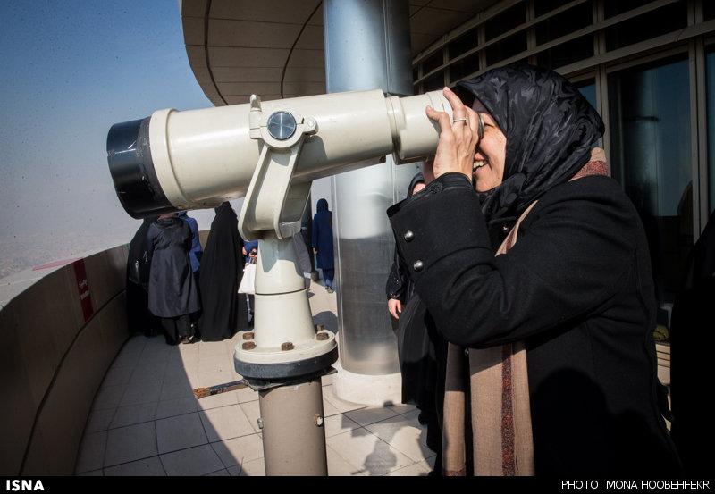 همسر محمدجواد ظریف وزیر خارجه ایران