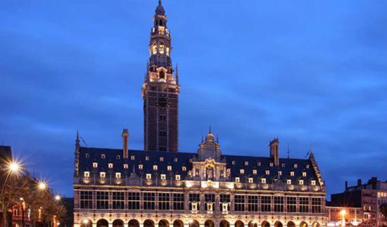 دانشگاهی در بلژیک