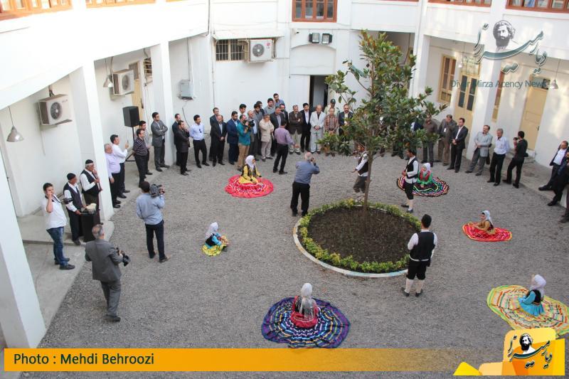 اجرای نمایش سنتی گیلان در خانه فرهنگ و هنر رشت
