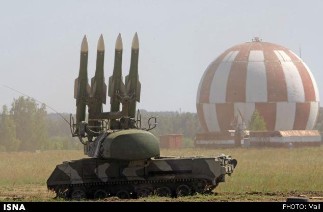 مدلهای مختلفی از سامانه موشکی BUK وجود دارند