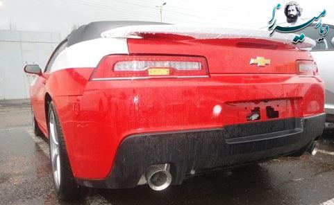 Camaro rs 2014 full حجم موتور: ۳٫۶ قدرت موتور: ۳۲۳ نوع دنده:اتوماتیک قیمت منطقه آزاد: ۵۰,۴۰۰ دلار