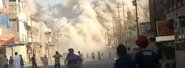 عکسهایی از انفجار مرقد حضرت یونس (ع)