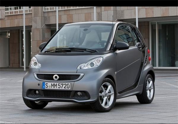 اسمارت فورتو 2014                   13270 دلار حجم موتور: 1000 سی سی، قدرت: 70 اسب بخار، مصرف سوخت : 7.4 لیتر در 100 کیلومتر، 6 دنده