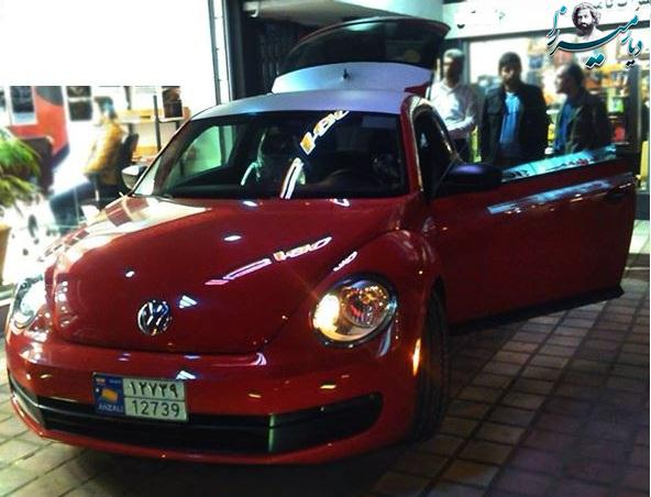volkswagen beetle 2013 قیمت:۷۹ ملییون تومان
