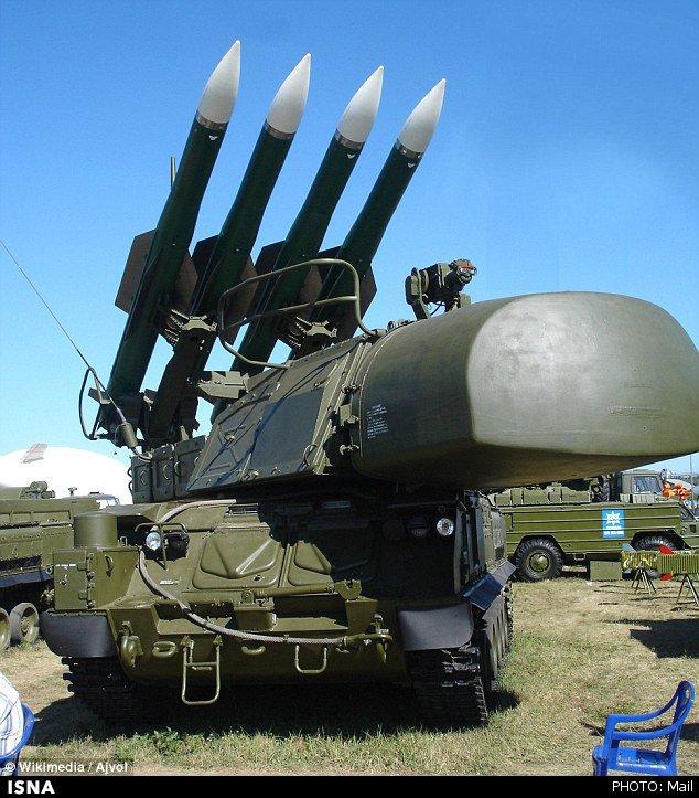 سامانه موشکی با قدرت هر چه تمامتر به هواپیمای مسافربری شلیک کرد