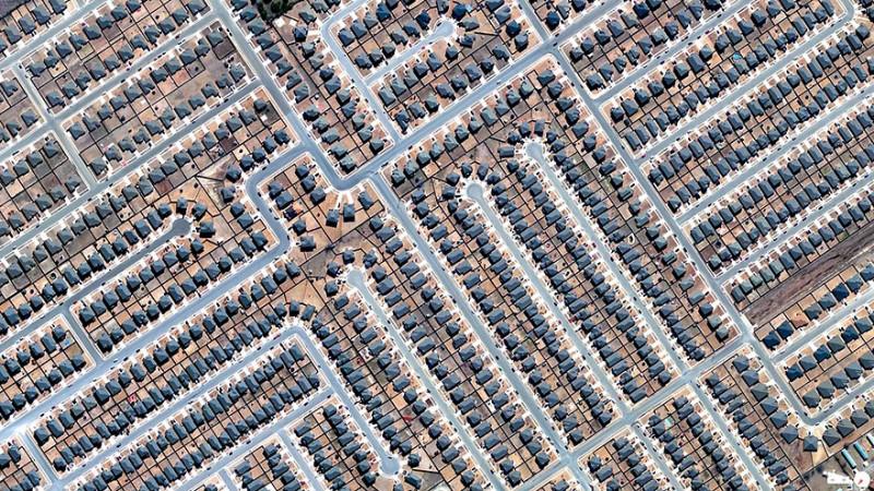 منطقه توسعه یافته مسکونی، کیلین (Killeen)، تگزاس، ایالات متحده