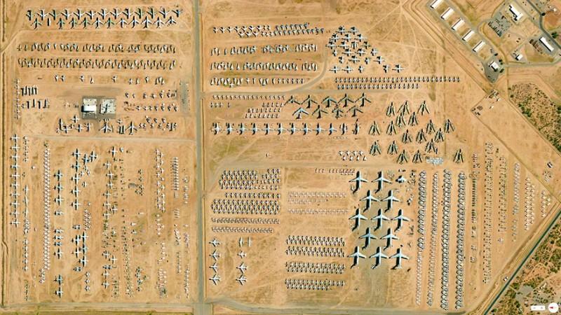 مرکز نگهداری، بازسازی و انبار اسلحه و هواپیمای توسان (Tucson Group)، آریزونا، ایالات متحده