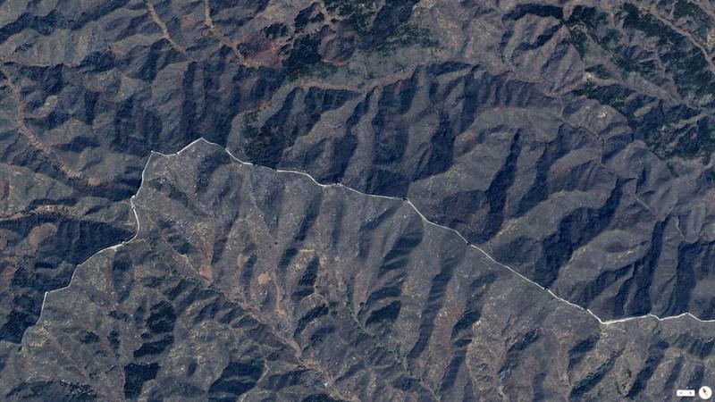 دیوار بزرگ چین، قسمتهای شمالی این کشور