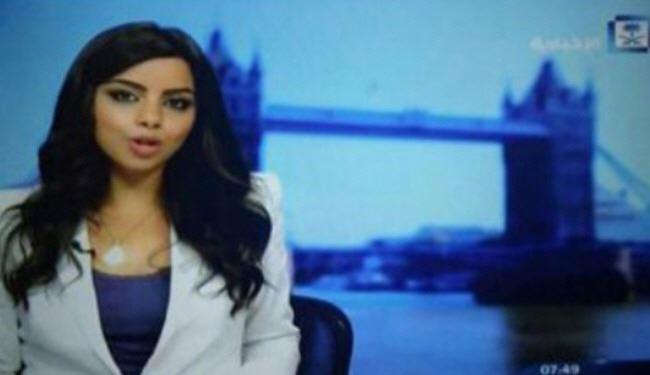 جنجال نخستین مجری زن بیحجاب در تلویزیون عربستان