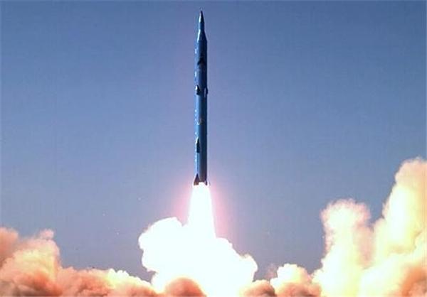 موشک سوخت جامد سجیل؛ یکی از موشکهای 2هزار کیلومتری ایران