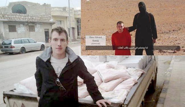 داعش یک گروگان آمریکایی را سر برید