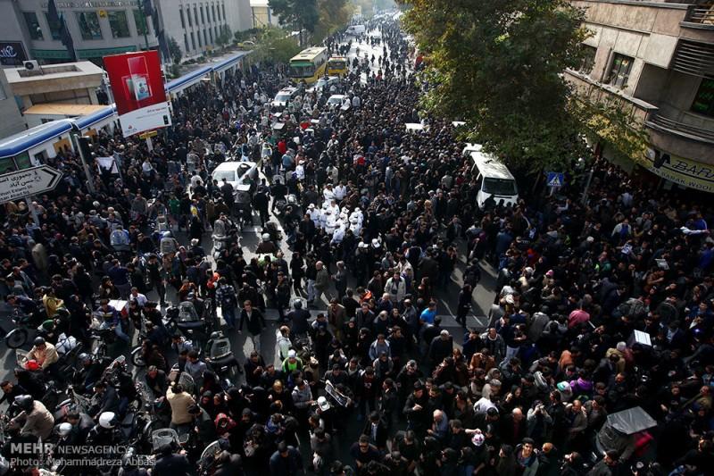 گزارش تصویری تشییع جنازه زنده یاد مرتضی پاشایی
