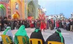 تعزیه گیلکی در آستانهاشرفیه رونمایی شد+تصاویر