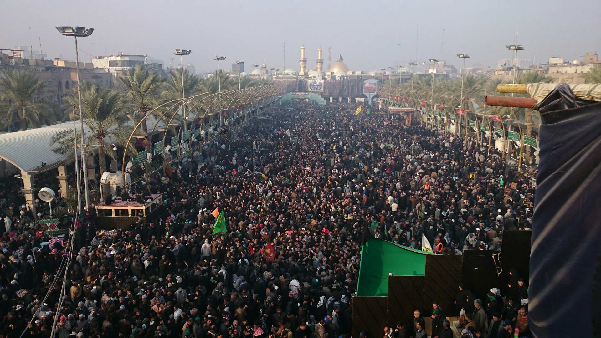 عکس روز اربعین در کربلا