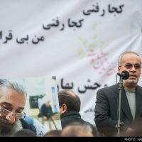 گزارش تصویری تشییع جنازه انوشیروان ارجمند