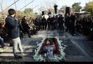 چهلمین روز درگذشت مرتضی پاشایی
