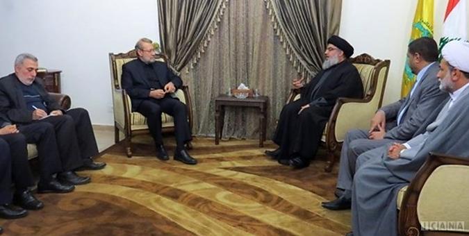 دیدار رئیس مجلس با دبیر کل حزب الل