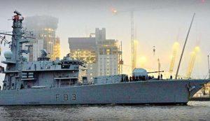 نخستین پایگاه دریایی انگلیس در بحرین پس از ۴ دهه