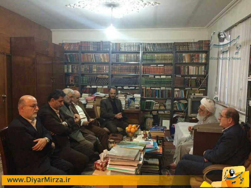 دیدار مجمع نمایندگان استان گیلان با نماینده ولی فقیه در استان +تصاویر