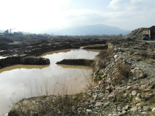 صدور اخطاریه زیست محیطی به 8 شرکت دانه بندی شن و ماسه در شهرستان رودسر