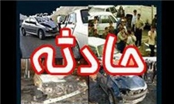 یک کشته در تصادف آزاد راه رشت-قزوین