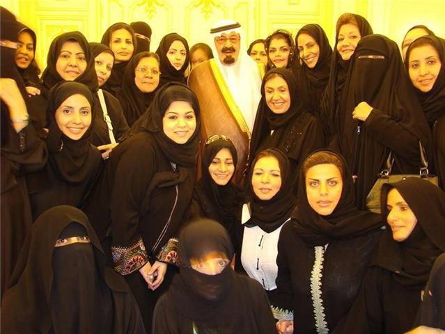 برخی از همسران ملک عبدالله
