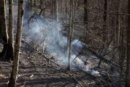 سرعت باد گرم در آستارا به 90 کیلومتر بر ساعت رسید/وقوع آتش سوزی جنگلی در شهرستان های تالش، سیاهکل، فومن و رودبار