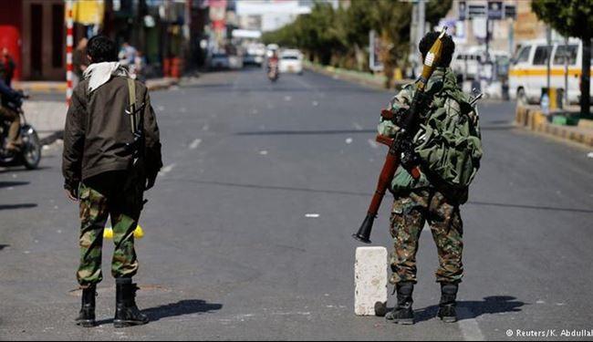 انصارالله یمن از کاخ ریاست جمهوری حفاظت می کند
