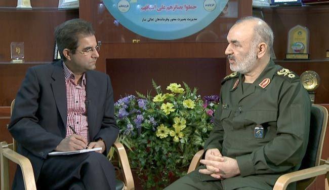 سردار سلامی: انتقامی ویژه در انتظار اسرائیل است