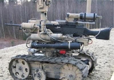 ربات رزمی و شناسایی سپاه رونمایی شد+عکس