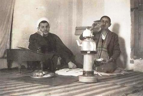 میرابوطالب حجازی و جلال گنجهای در حوزه علمیه قم ـ دهه ۴۰