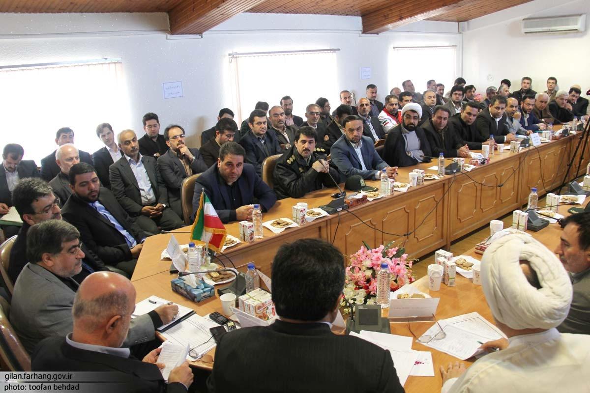 حضور-وزیر-فرهنگ-و-ارشاد-اسلامی-در-نشست-شورای-اداری-شهرستان-صومعه-سرا-۵