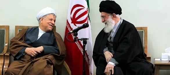رهبر معظم انقلاب و هاشمی رفسنجانی