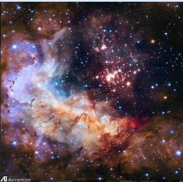 عکسی زیبا از فضا