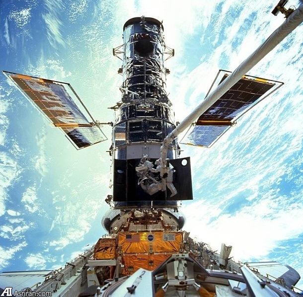 اولین هوانوردی من روی تلسکوپ فضایی