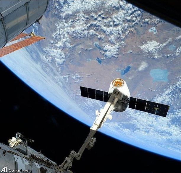 تصویر فضایی از زمین