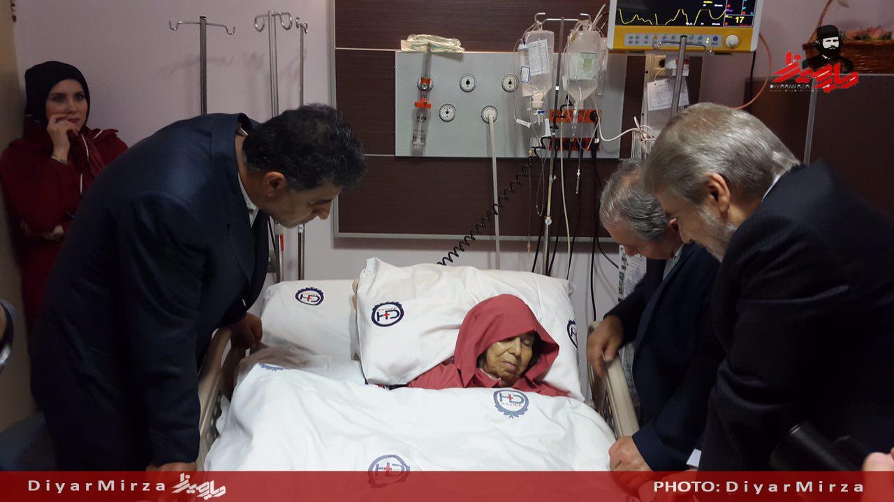 مادر محمد باقر نوبخت خانواده محمد باقر نوبخت بیوگرافی محمد باقر نوبخت اخبار رشت