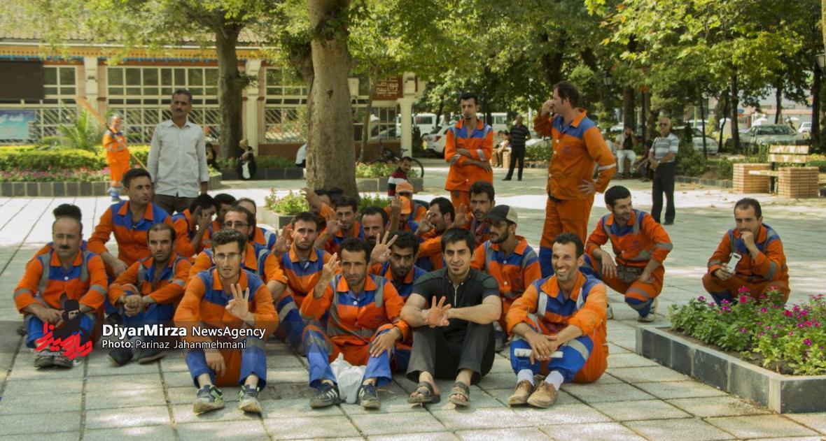 تجمع پاکبانان در مراسم افتتاحیه بازآفرینی سبزه میدان