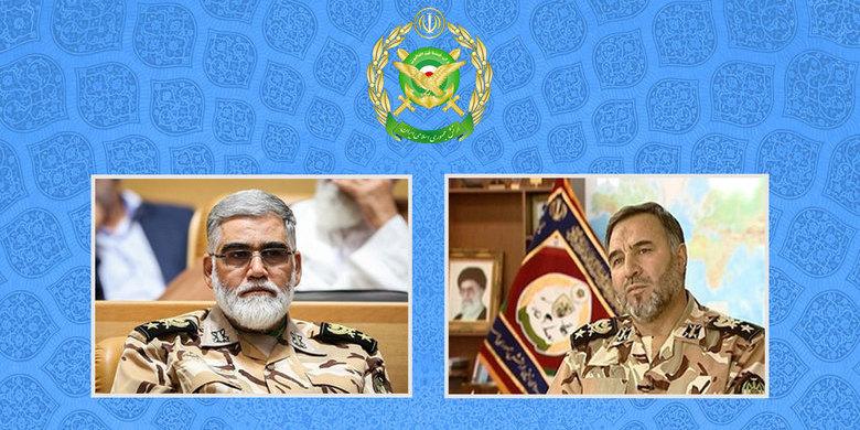 انتصاب جانشین فرمانده کل ارتش و فرمانده نیروی زمینی ارتش