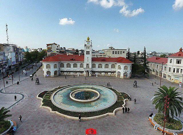 Image result for پیاده راه فرهنگی رشت