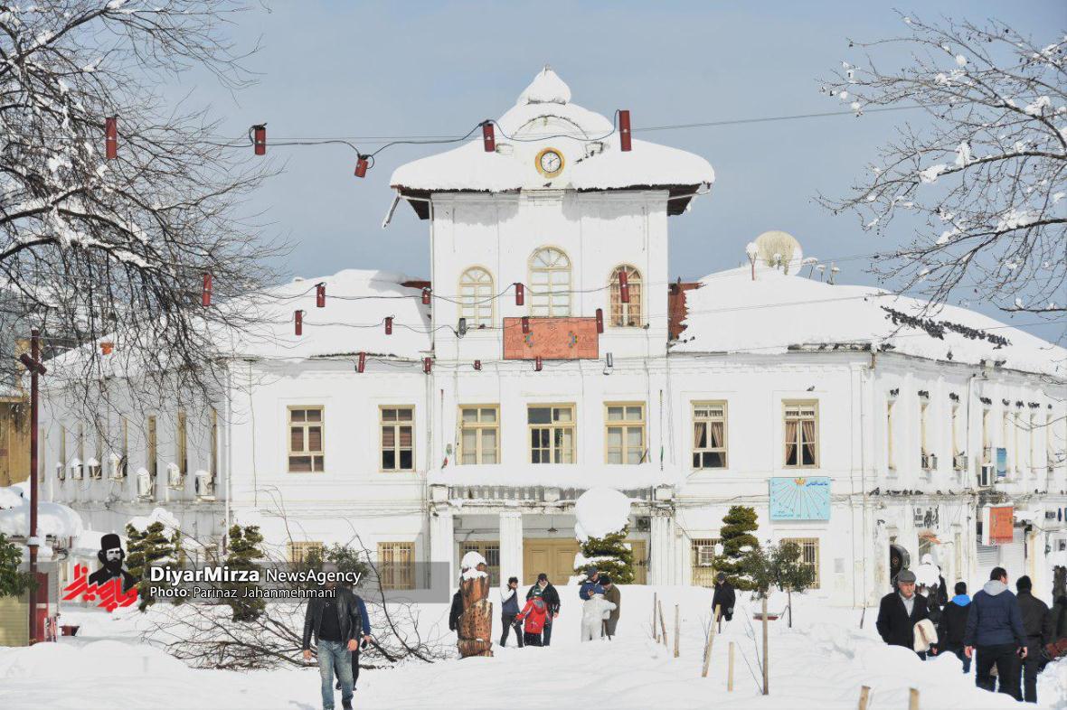 شهرداری رشت با آمادگی کامل به استقبال بارش احتمالی برف میرود