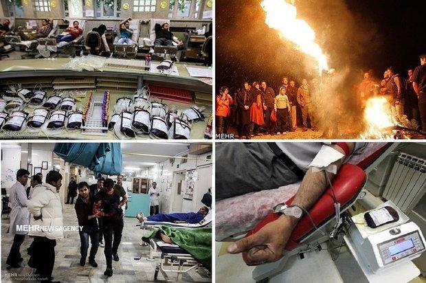 اخرین اطلاعات درباره علیرضا قادری کاهش ۶۰ درصدی حوادث چهارشنبه سوری | ثبت ۶۰ مصدوم در سراسر ...