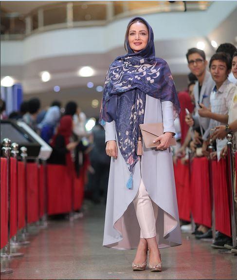 تیپ سال 1396 پوشش بازیگران در جشن حافظ+تصاویر