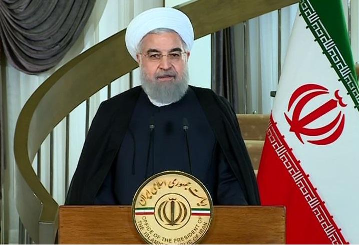 روحانی : ترامپ تاریخ و جغرافیا را بهتر بخواند / اظهارات او فحاشی و مشتی از اتهامات واهی است