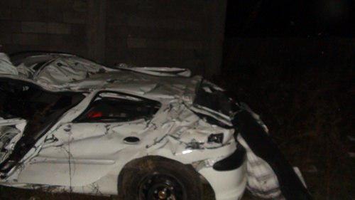 مرگ غم انگیز ۳ نفر در واژگونی پژو ۲۰۶ در مسیر تالش به آستارا