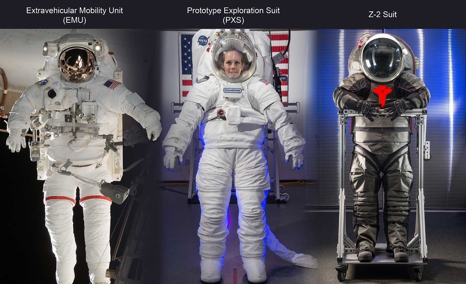 لباسهای فضانوردی جدید، مجهز به توالت!+ عکس