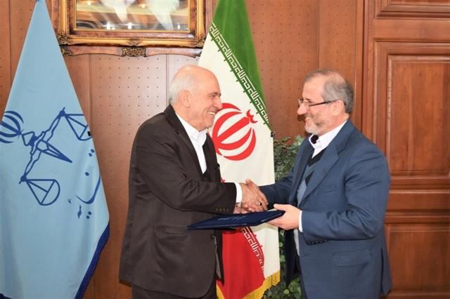 احمد سیاوش پور رئیس کل دادگستری