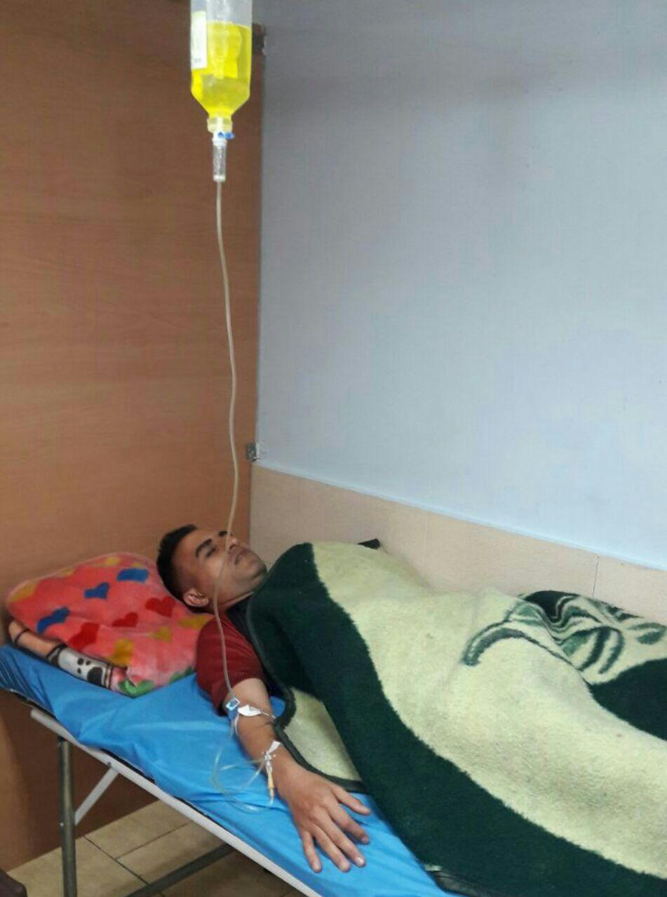 تصویری از حسین کعبی روی تخت بیمارستان!